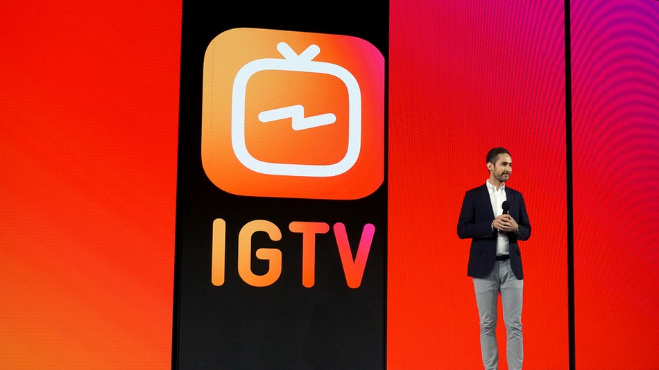 IGTV, an app for content creators.